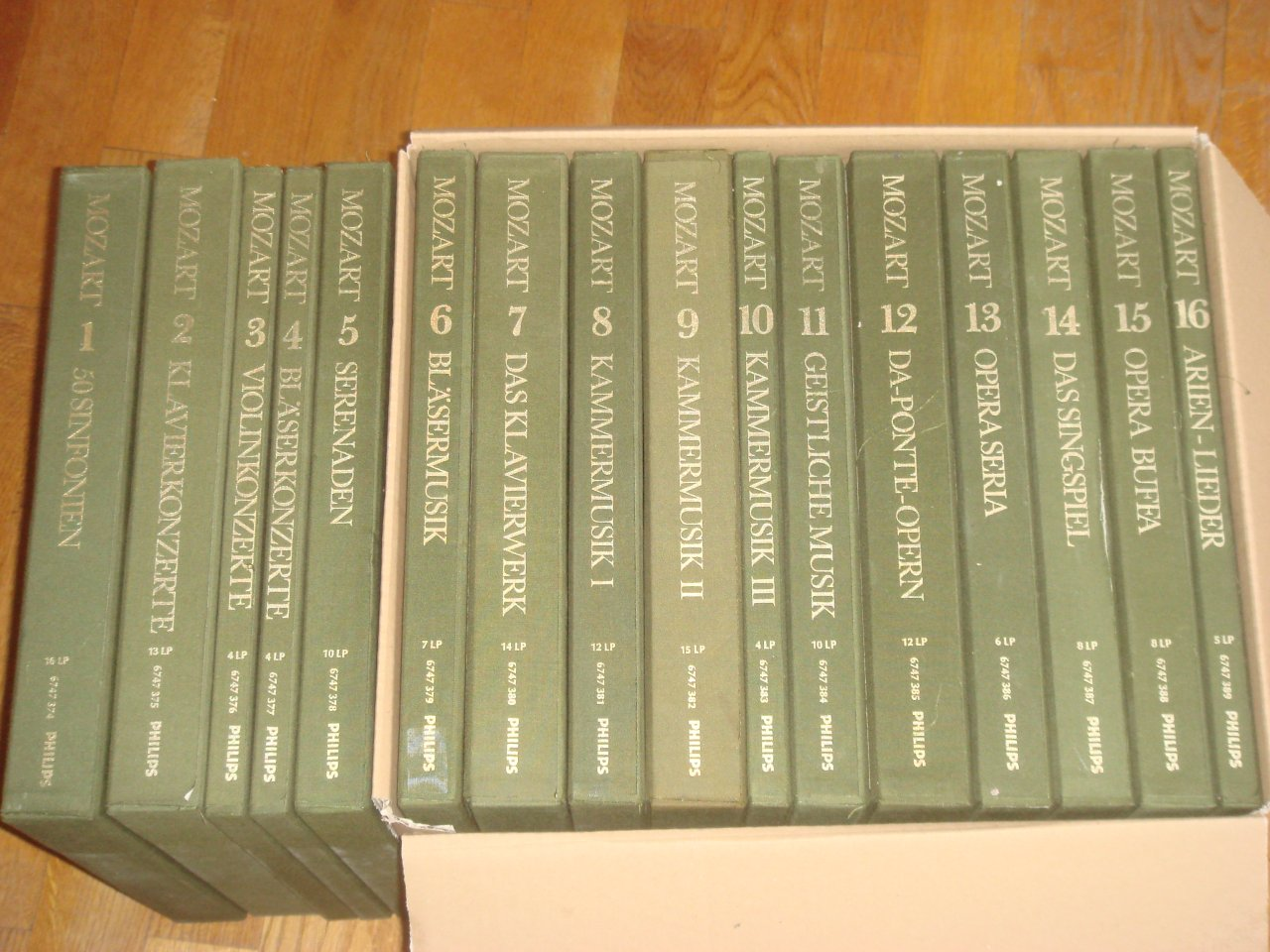 Lp Collection Currently On Offer Complete Editions Rare